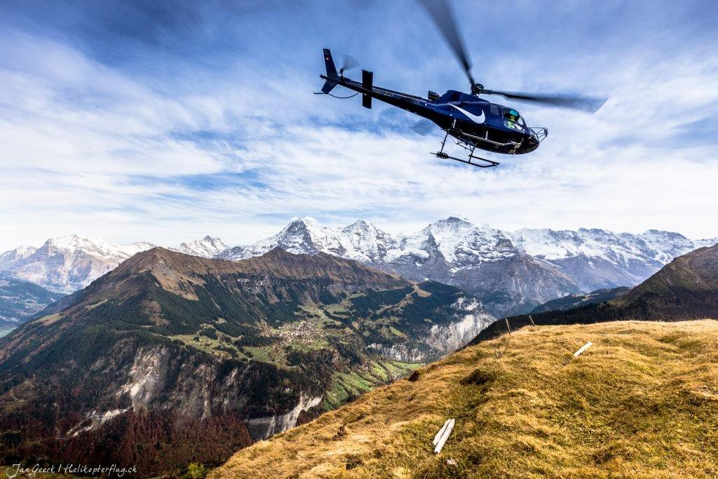 Regionaler Rundflug Sion