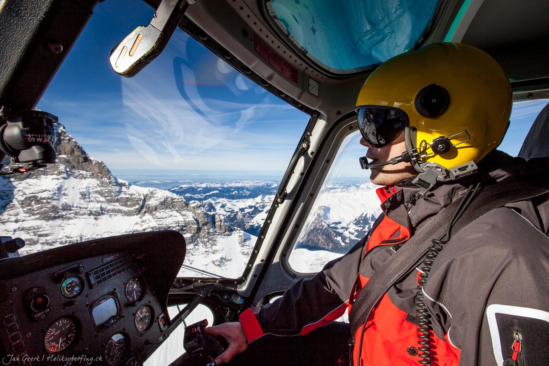 Helikopter Rundflug Sion