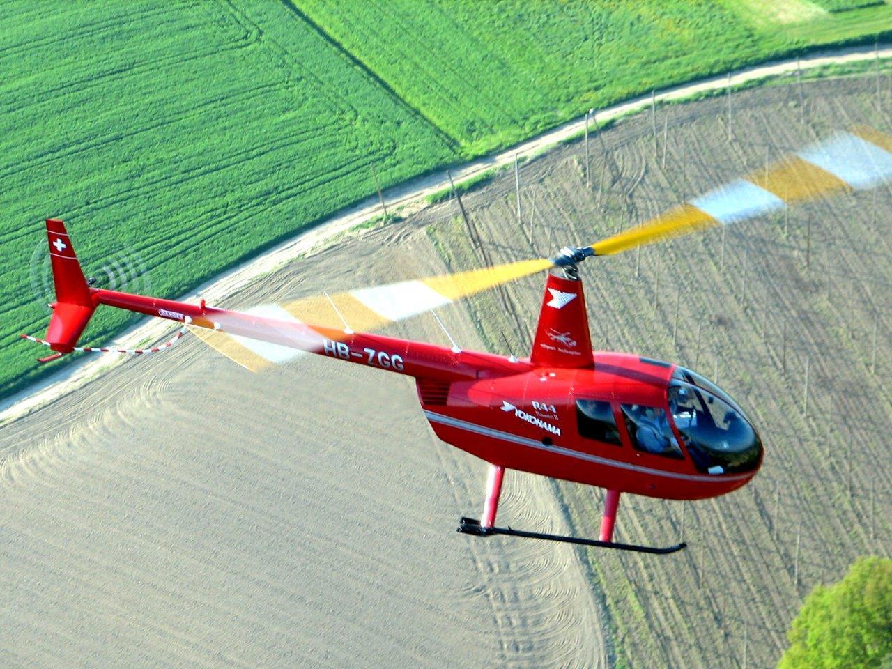 Hubschrauberflug Kassel Flugplatz