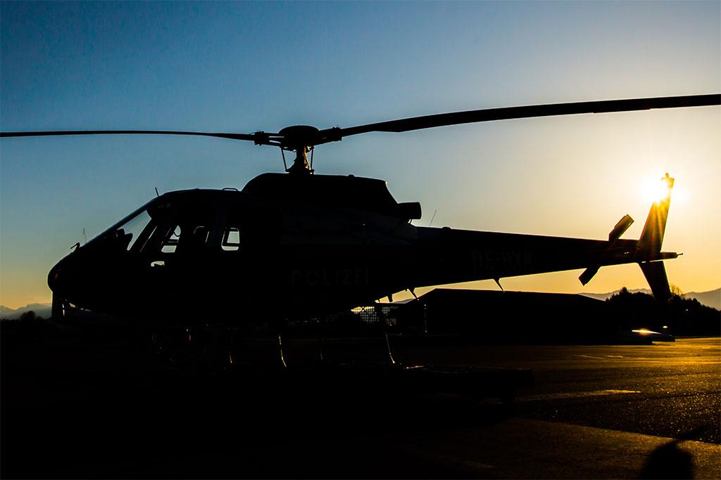 Hubschrauber Dinner Hilzhof