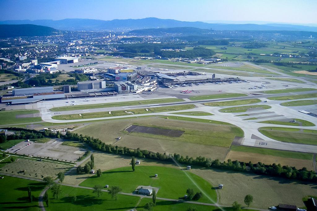 Rundflug Flugplatz Zürich