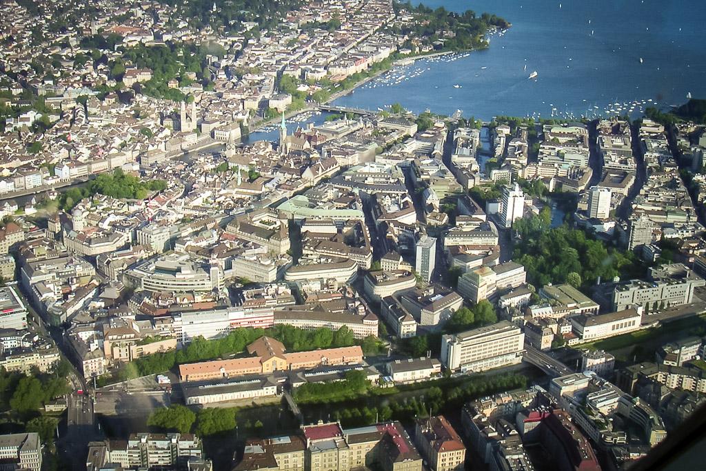 Rundflug über Zürich
