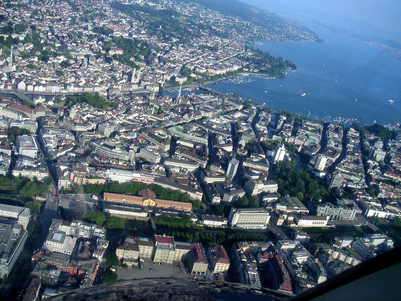 Gourmetflug Zürich