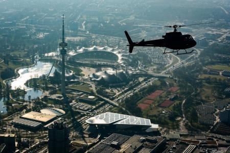 Hubschrauberrundflug München