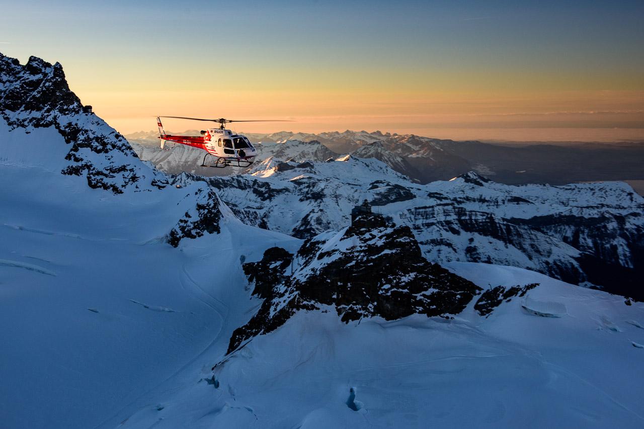 Alpenrundflug Berner Oberland