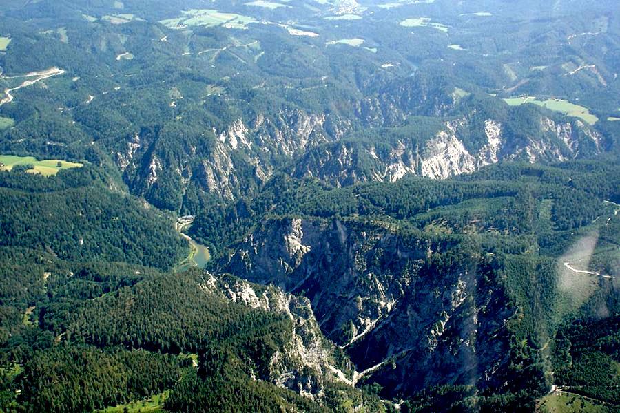 Rundflug Grand Canyon Österreich