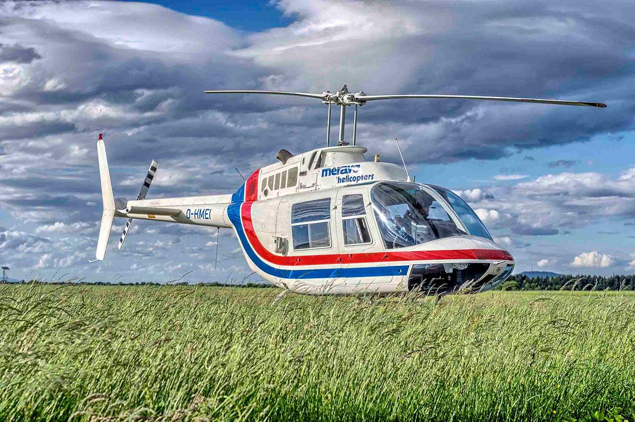 Hubschrauber Breisgau