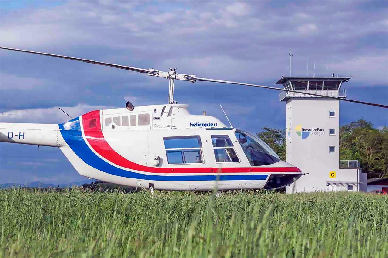 Hubschrauber Flugplatrz Bremgarten