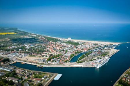 Hubschrauberrundflug Rostock