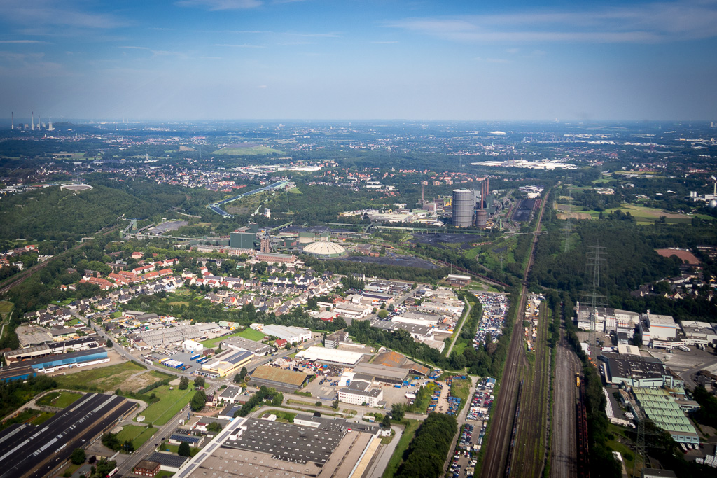 Hubschrauberflug Dortmund