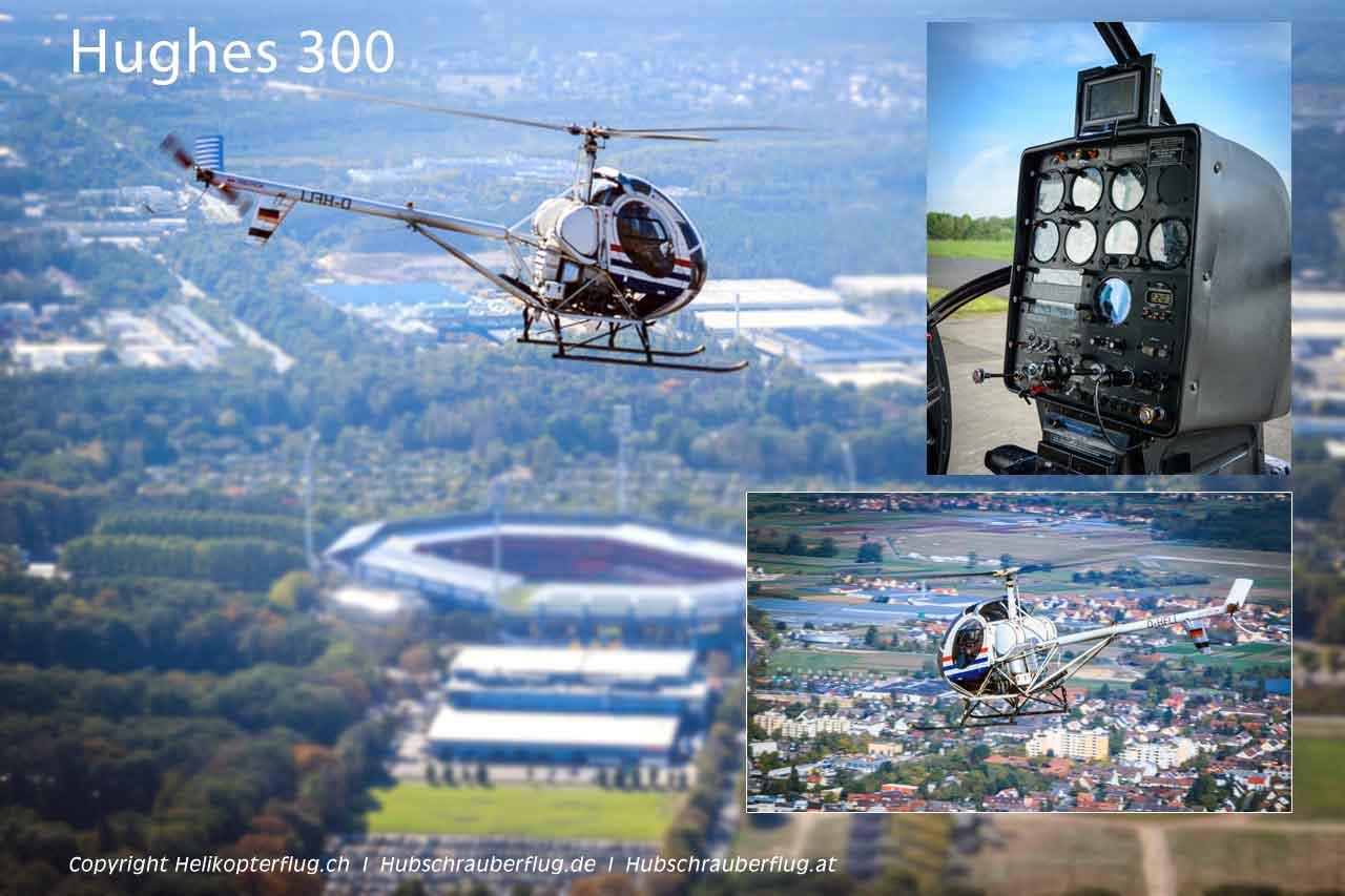 Hubschrauber Hughes 300