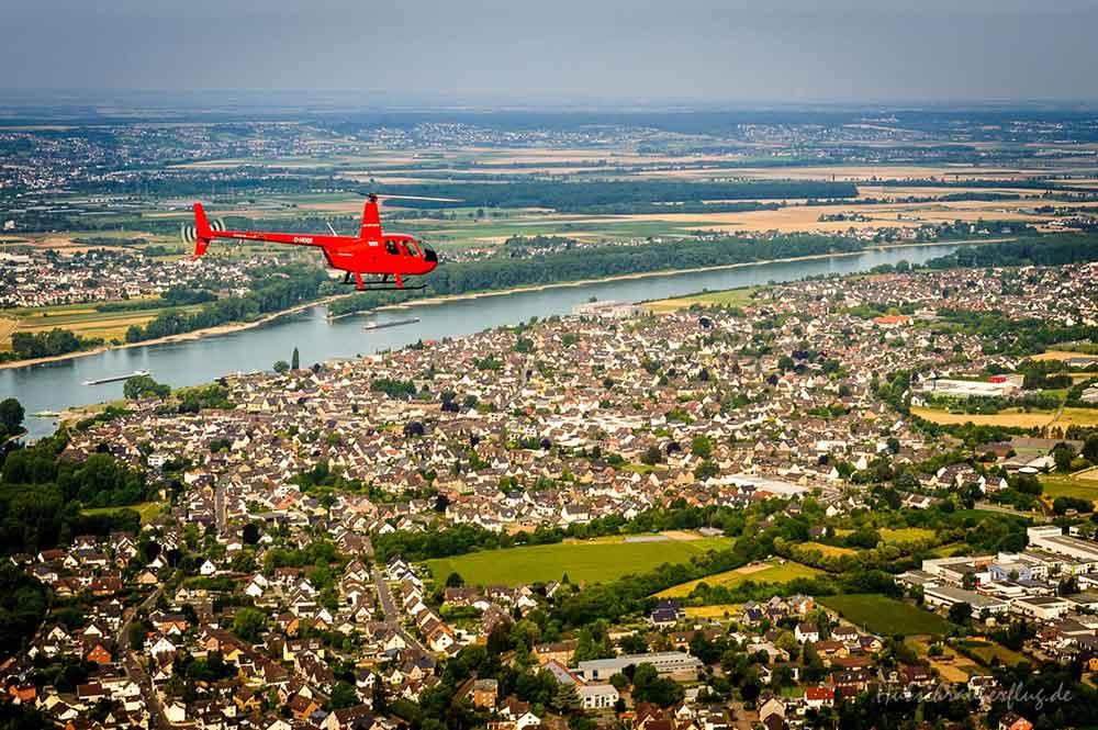Hubschrauberrundflug Region Köln