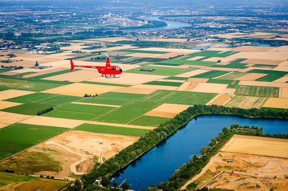 Hubschrauber Region Bonn
