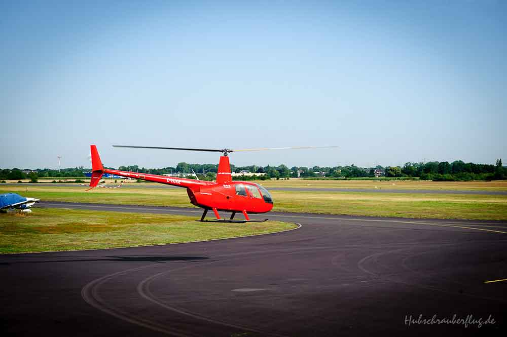Hubschrauber Start Hangelar