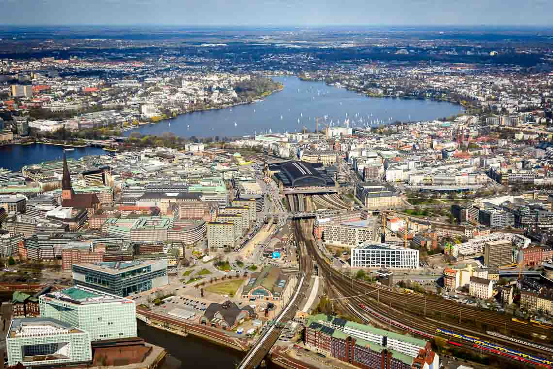 Hubschrauberrundflug Hamburg