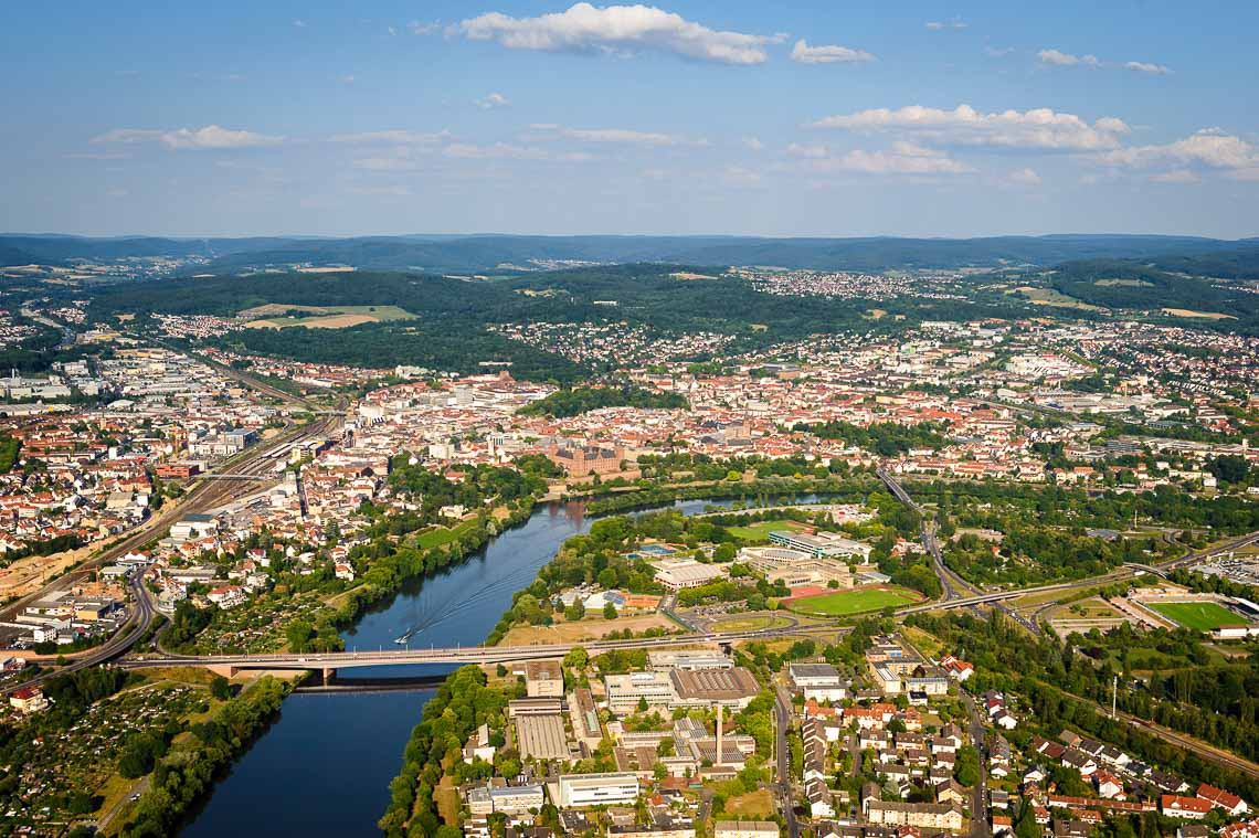 Hubschrauberrundflug Frankfurt