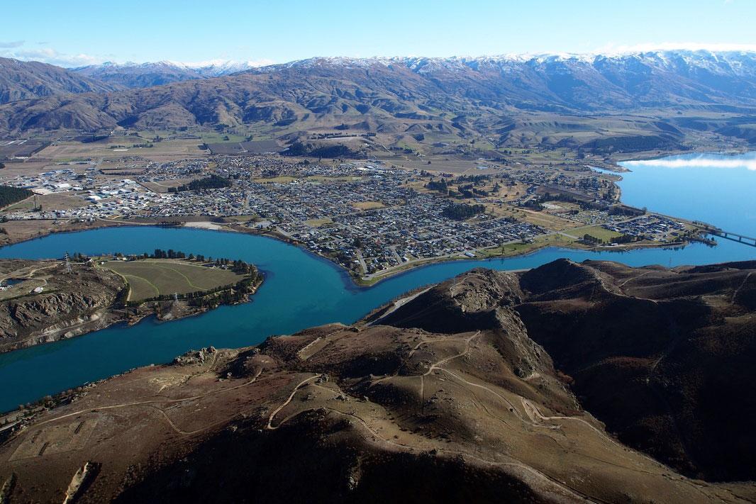 Hubschrauberflug Neuseeland