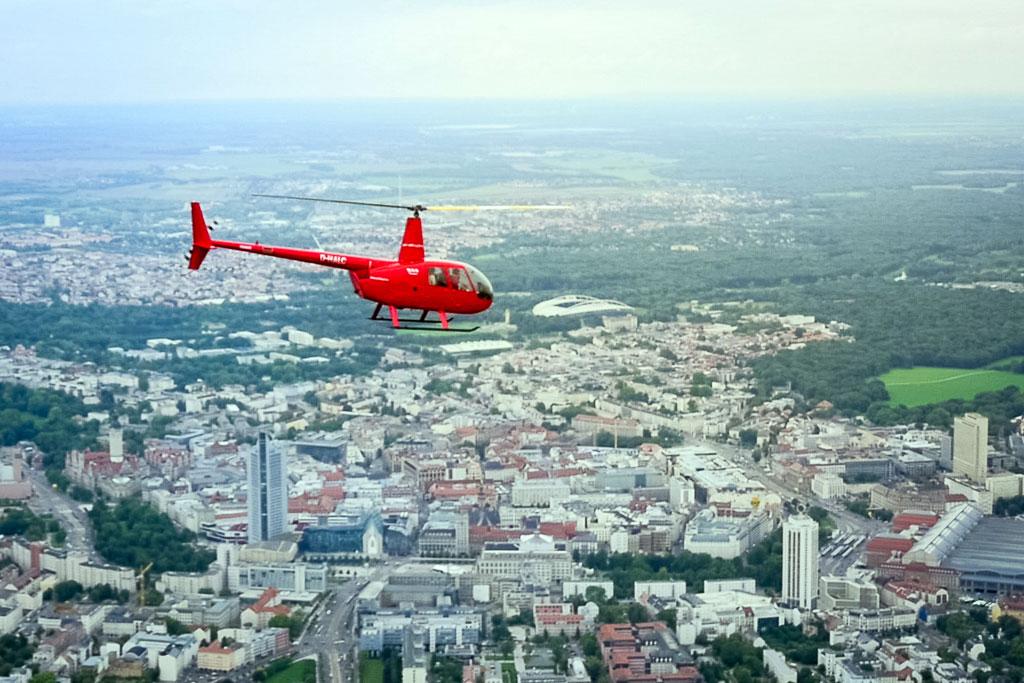 Hubschrauberrundflug Leipzig