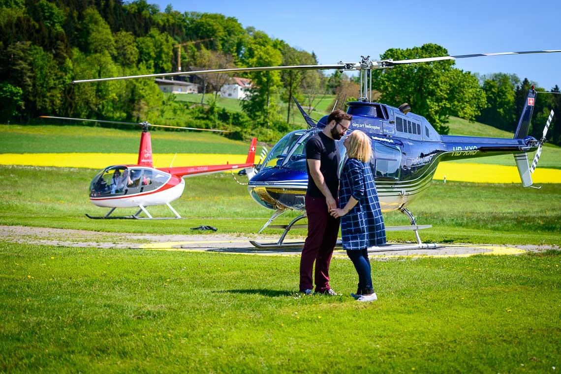Hubschrauberrundflug Salzkammergut