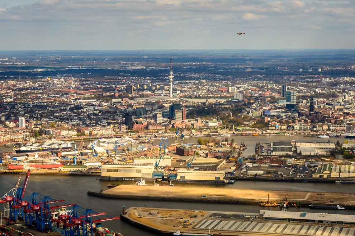 Hubschrauberflug Sommerland