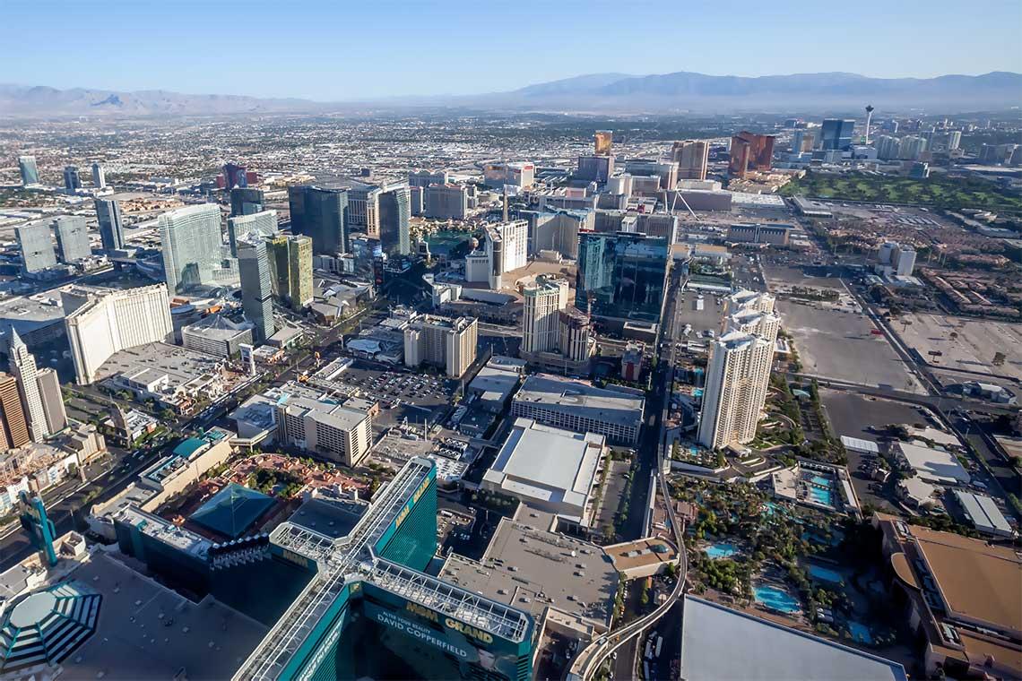 Hubschrauberflug Las Vegas