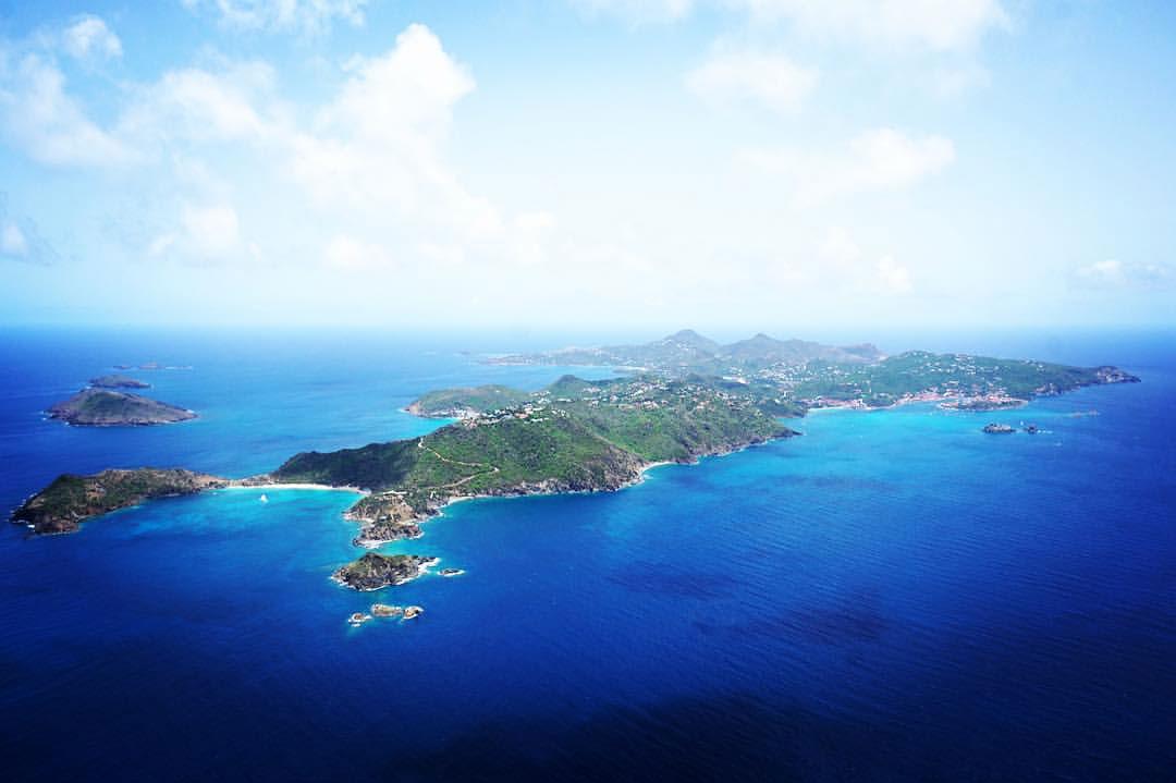 Hubschrauberflug Caribic