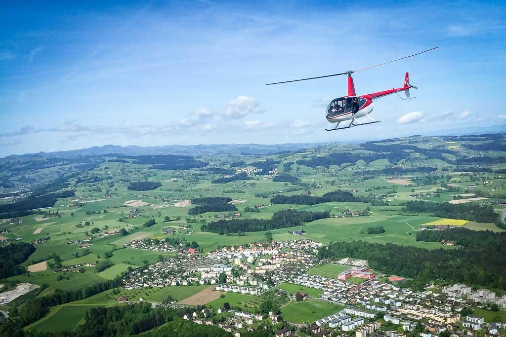 30 Min. Hubschrauberrundflug Graz