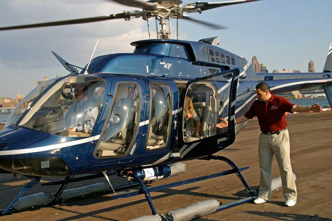Hubschrauberflug New York Manhatten
