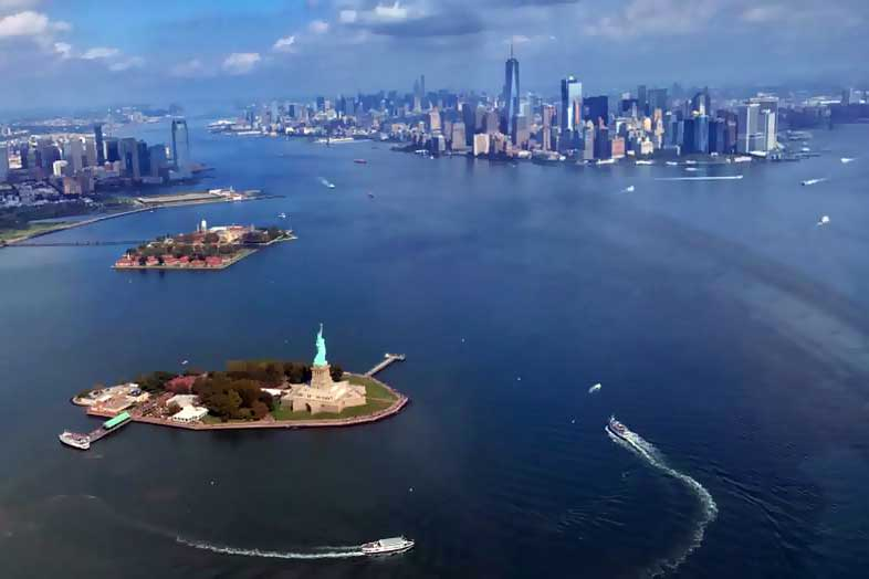 Helikopterflug New York
