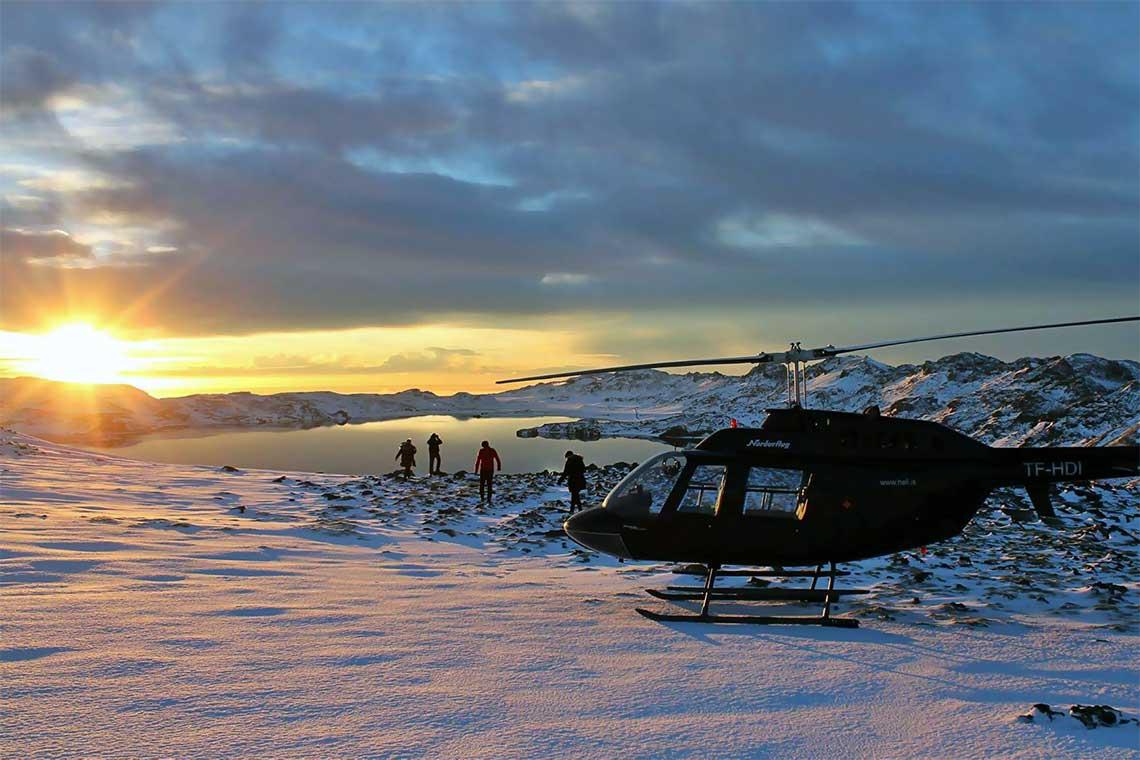 Hubschrauberrundflug Reykjavik