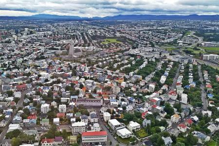 Rundflug Reykjavik