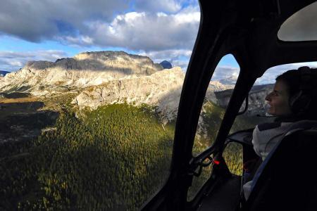 Helikopterrundflug Tirol