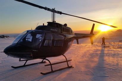 Helikopterrundflug Reykjavik