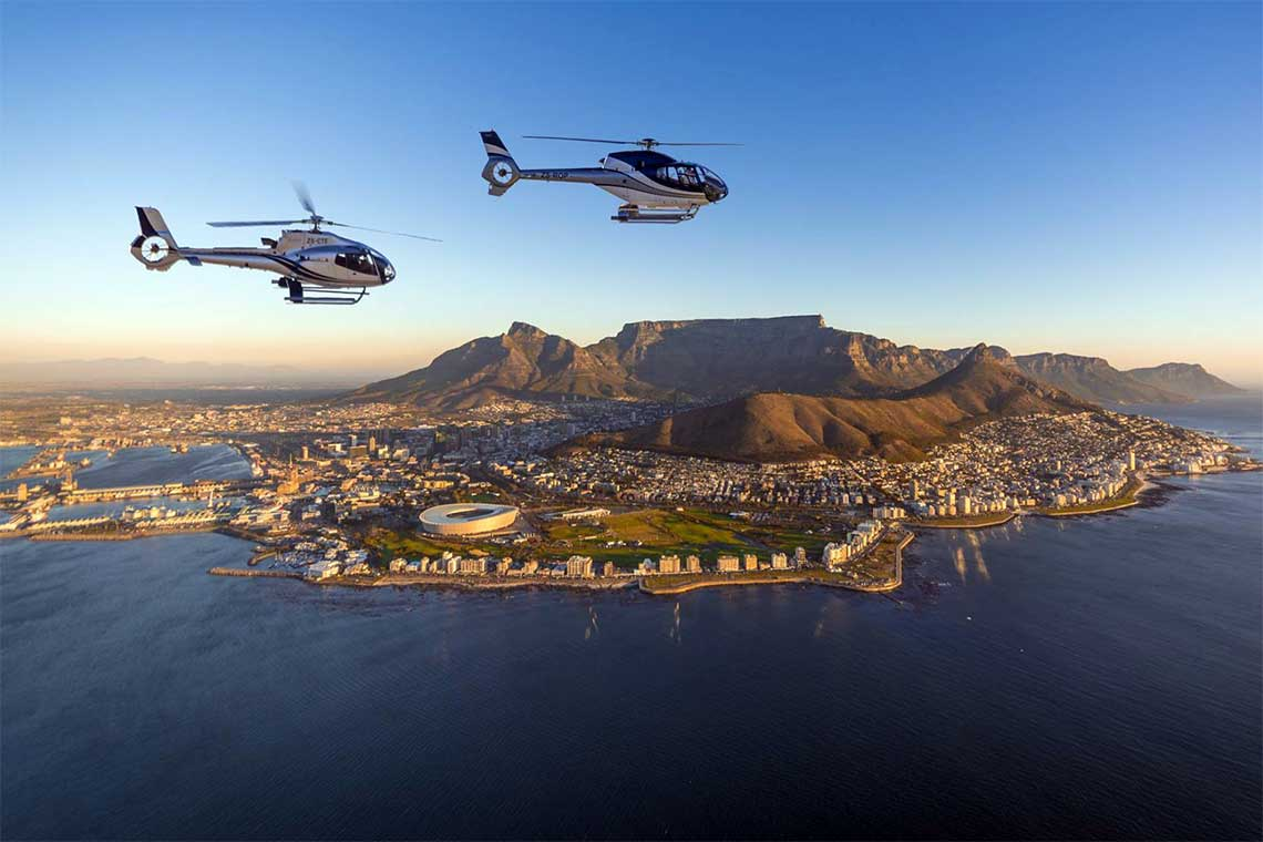 Hubschrauberflug Kapstadt