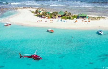 Hubschrauberrundflug Karibik