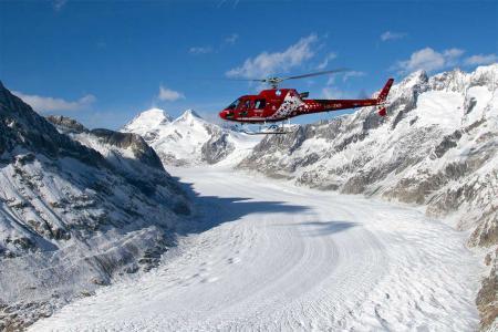 Helikopter Rundflug Aletschgebiet
