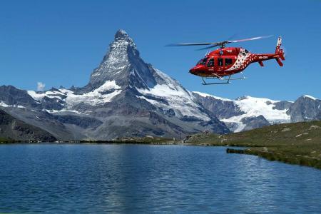 Matterhorn Rundflug Raron