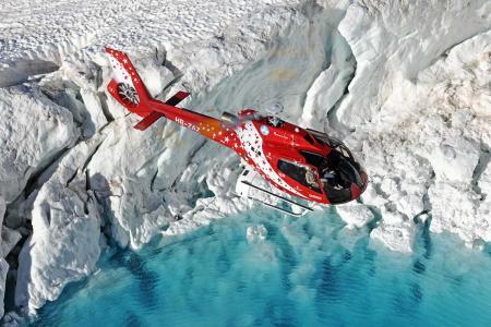 Eispalast Jungfraujoch Rundflug