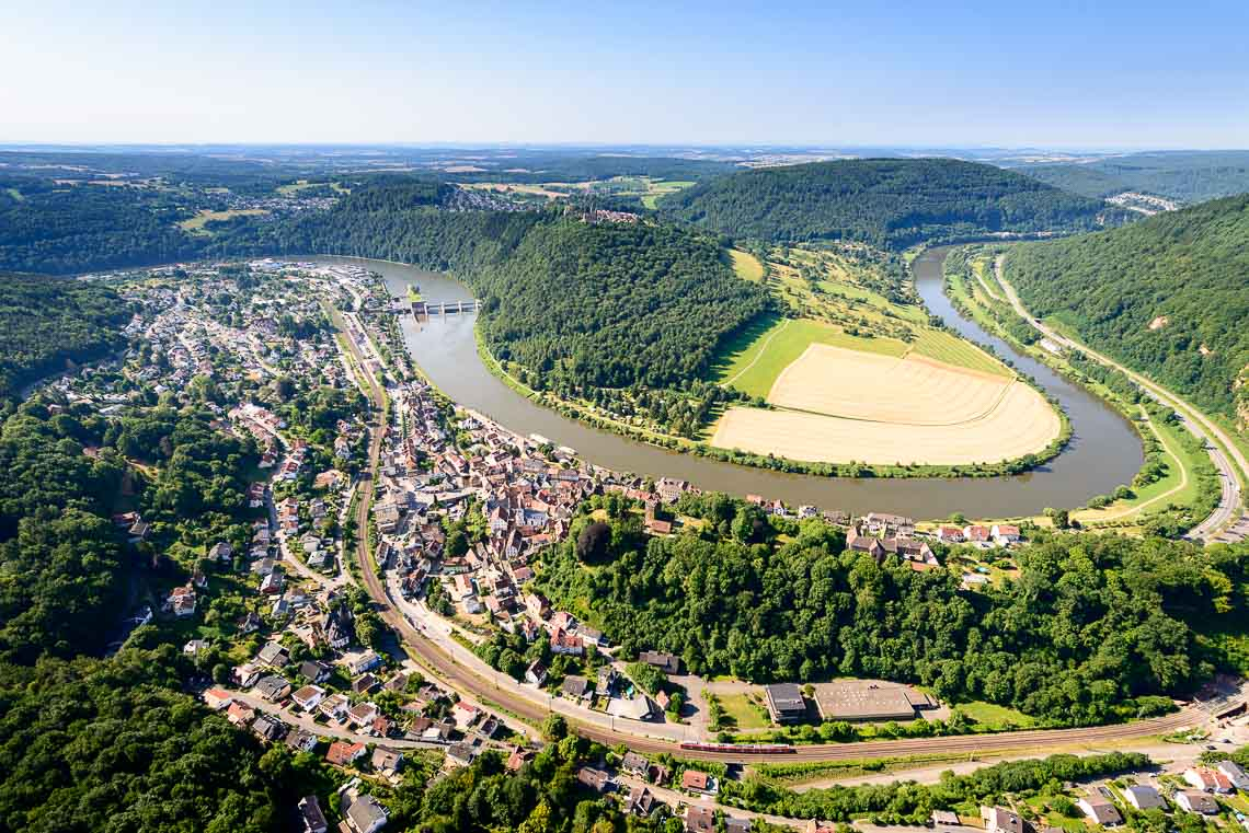 Hubschrauberrundflug Neckar