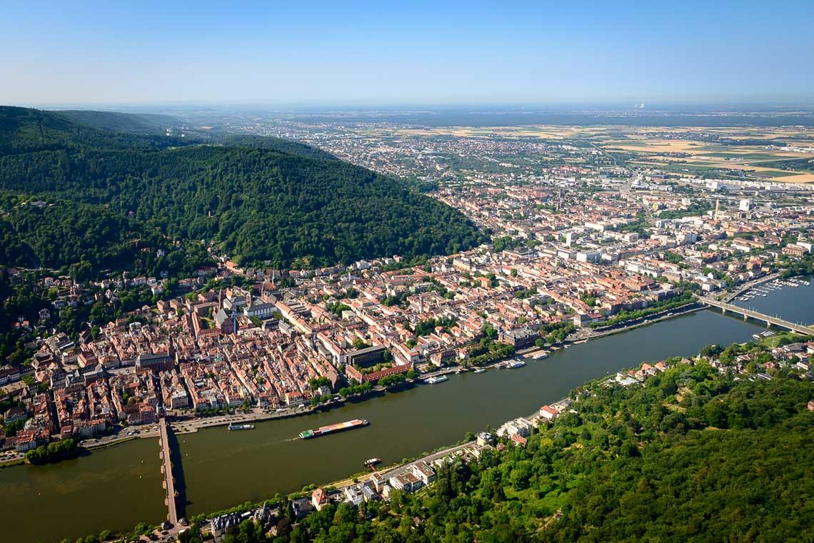 Hubschrauberrundflug Heidelberg