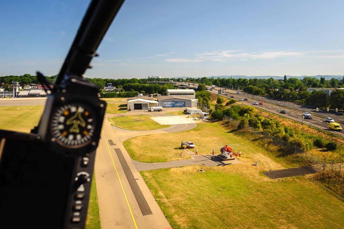 Hubschrauberrundflug Mannheim