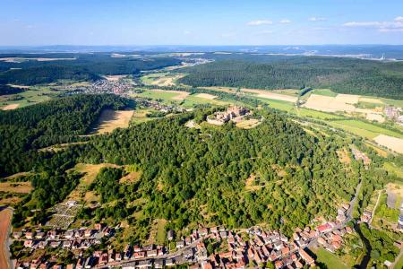 Hubschrauberrundflug Schloss