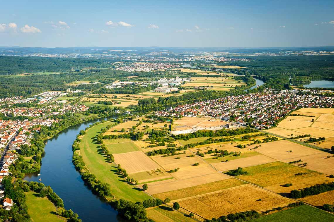 Hubschrauberflug Frankfurt