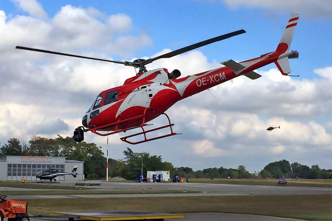 Hubschrauberrundflug Bad Vöslau