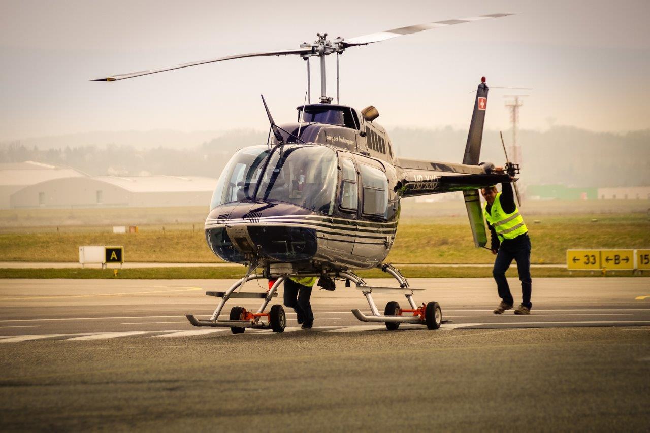 Helikopter Basel