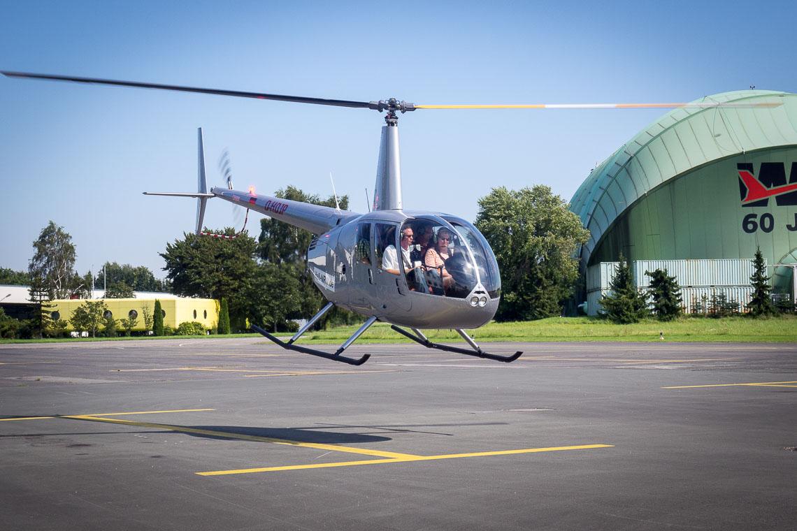 Hubschrauber Essen