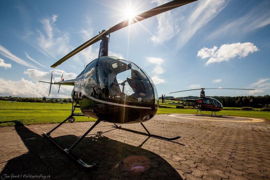 Helikopter selber fliegen Robinson