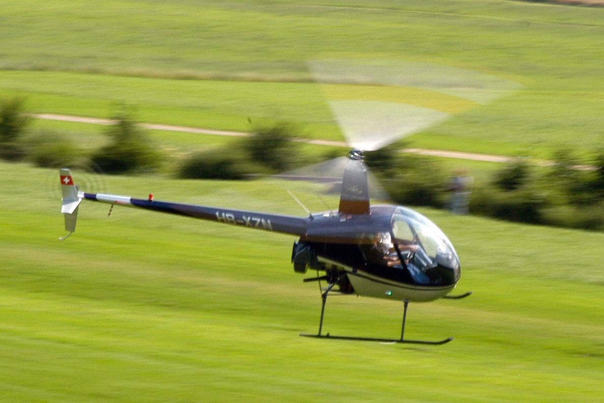Hubschrauber selber fliegen Robinson
