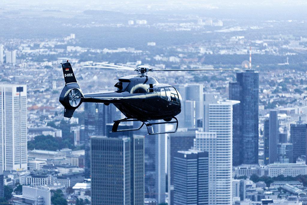 Helikopter Frankfurt