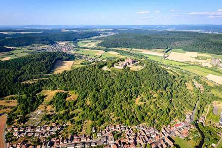 Hubschrauberrundflug Schloss Frankfurt